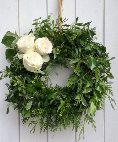 Summer elegance wreath