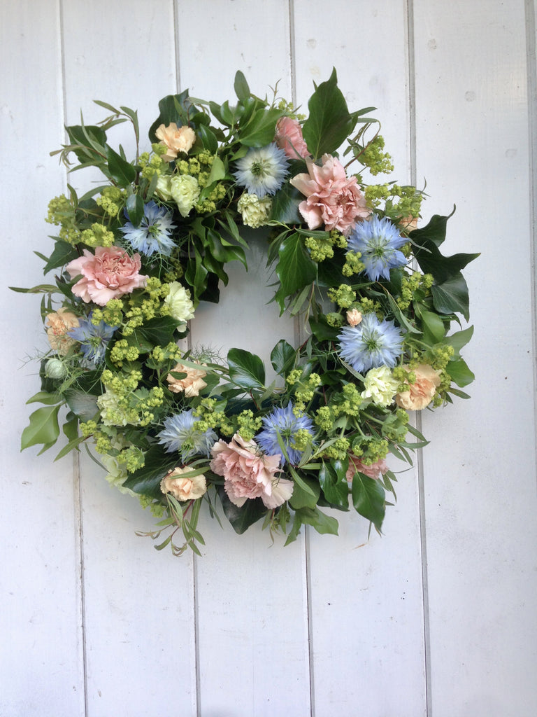 British flower wreath