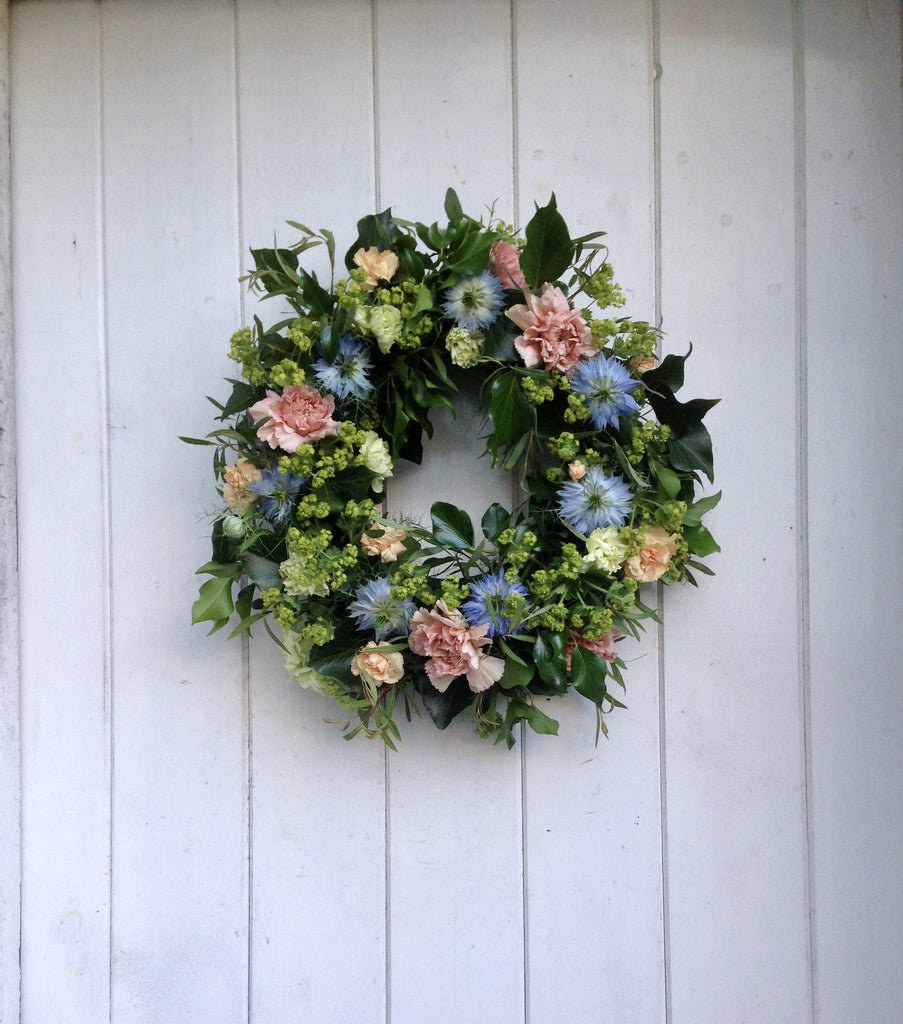 Lazy days summer wreath
