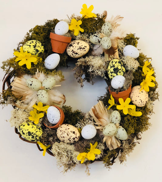 Everlasting Easter wreath