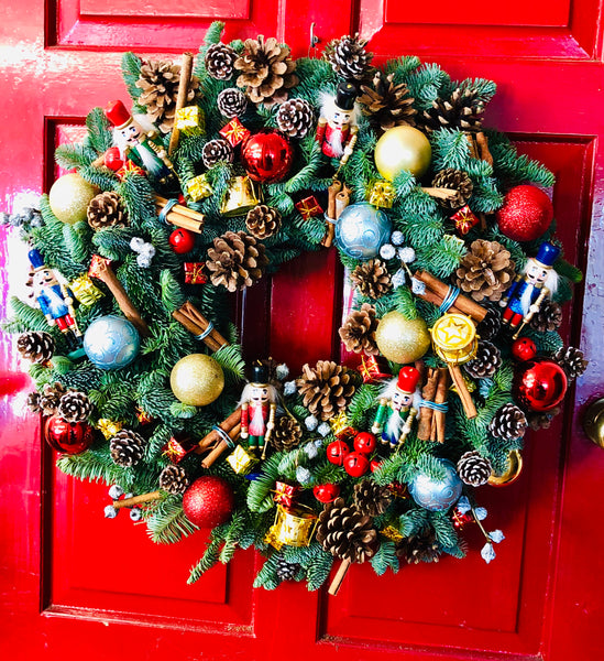 The Nutcracker wreath