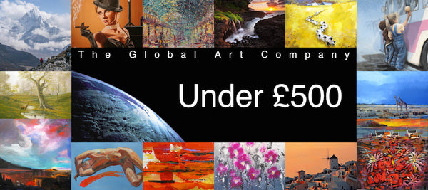 Original paintings gallery under £500 on The Global Art Company