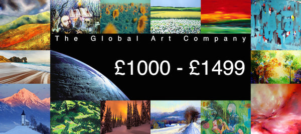 The Global Art Company Artwork for £1000 - £1499