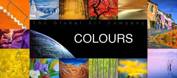 The Global Art Company colours search page