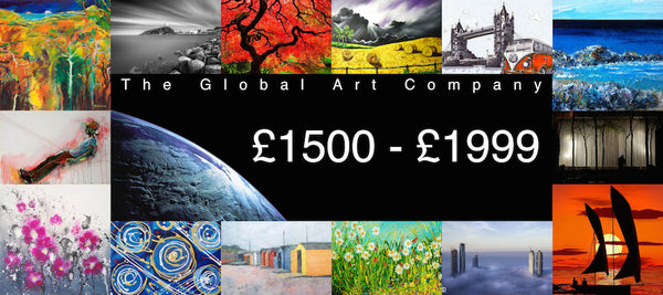The Global Art Company Artwork for £1500 - £1999