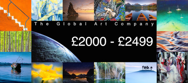 The Global Art Company Artwork for £2000 - £2499