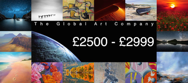 The Global Art Company Artwork for £2500 - £2999