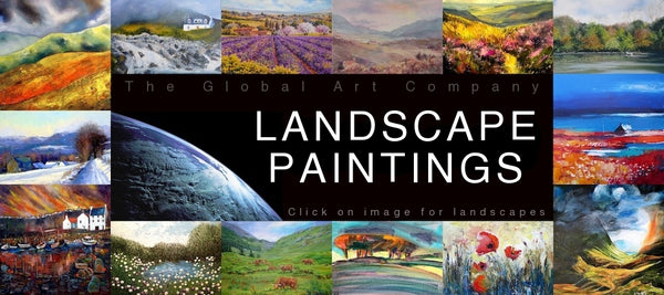 Original landscape paintings on The Global Art Company