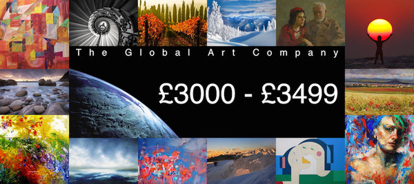Original paintings between £3000 - £3499 on The Global Art Company
