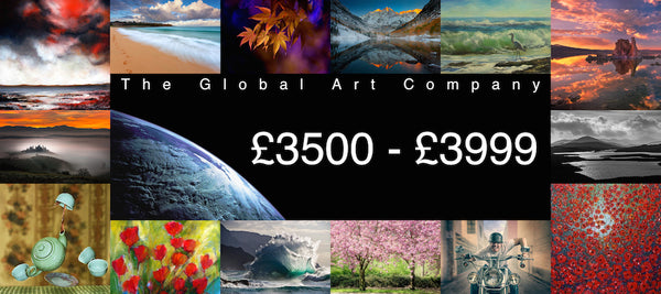 The Global Art Company Artwork for £3500 - £3999