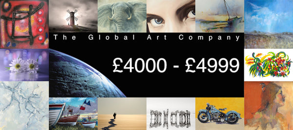 The Global Art Company Artwork for £4000 - £4999
