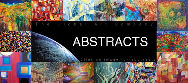 Abstract Art collection on The Global Art Company