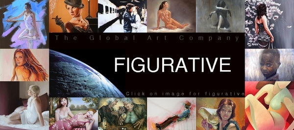 The Figurative Art Collection at The Global Art Company