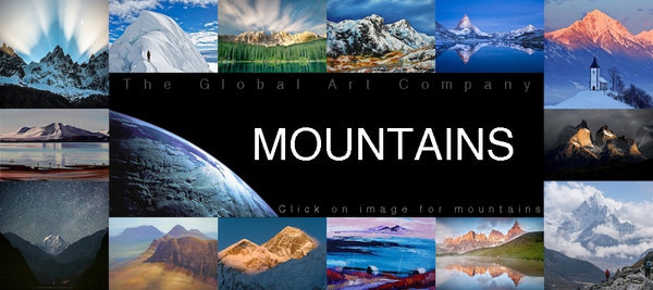 Mountain Art and Photography - The Global Art Company