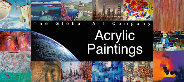 The Acrylics art gallery on The Global Art Company