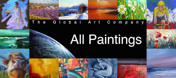 The Global Art Company paintings collection