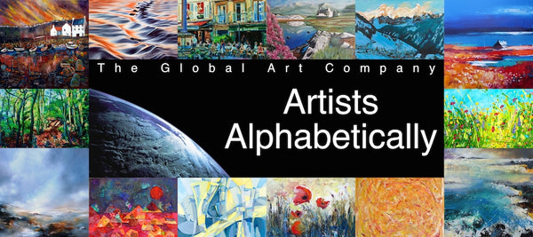 The Global Art Company Artists search page
