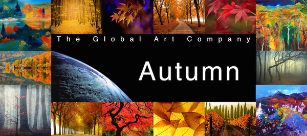 The Autumn art gallery on The Global Art Company