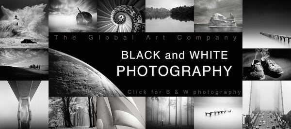 The Black and White photography gallery on The Global Art Company