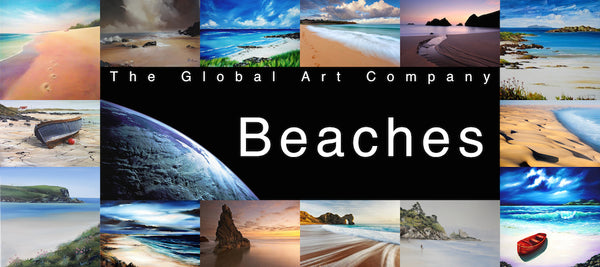 The Sandy beaches art gallery on The Global Art Company