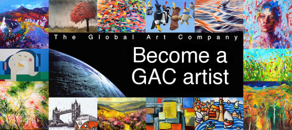 Information on becoming an artist at The Global Art Company