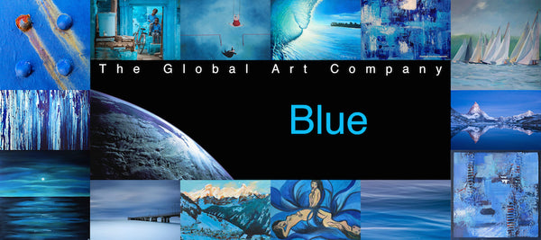 The Blue art collection on The Global Art Company