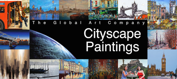 Cityscape Paintings on The Global Art Company