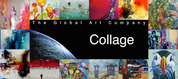 The Collage art gallery on The Global Art Company