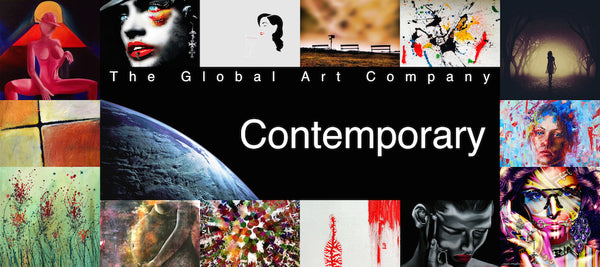 The Contemporary art gallery on The Global Art Company