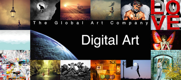Digital Art collection on The Global Art Company