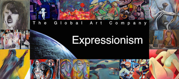The Expressionism art gallery on The Global Art Company