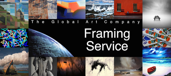 Information on our Framing Service on The Global Art Company