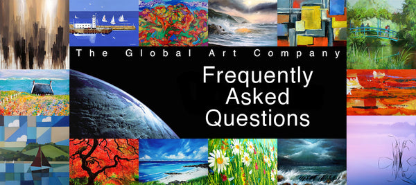 Frequently asked questions on The Global Art Company