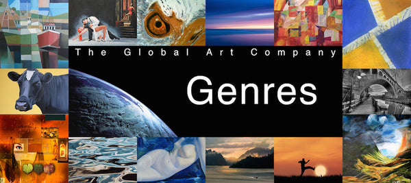 The Global Art Company Genres search page