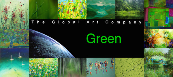 The Green art collection on The Global Art Company