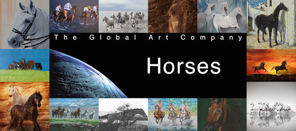 Collection of Horses in Art - The Global Art Company