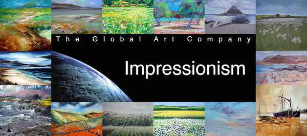 The Impressionism at gallery on The Global Art Company