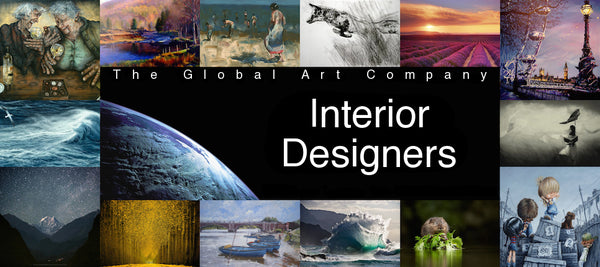 Information for Interior Designers on The Global Art Company