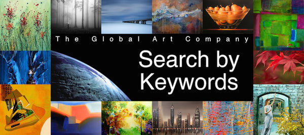 The Global Art Company keyword search page
