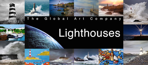 The Lighthouses collection on The Global Art Company