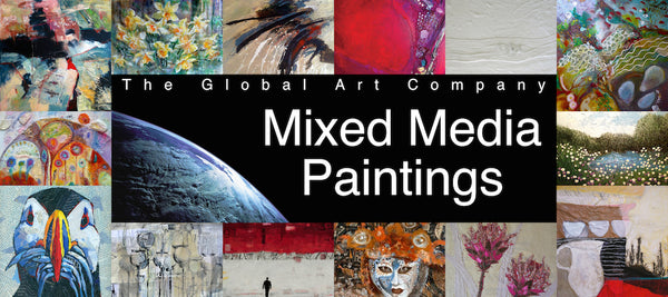 The Mixed Media Art Collection at The Global Art Company