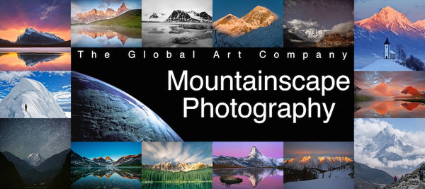 Mountainscape Photography on The Global Art Company