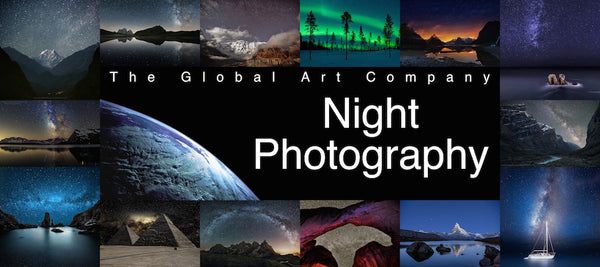 The night photography gallery on The Global Art Company