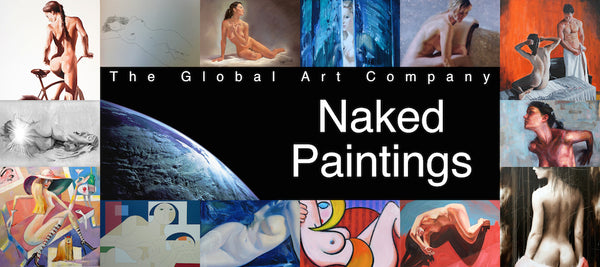 The Naked portrait art gallery on The Global Art Company