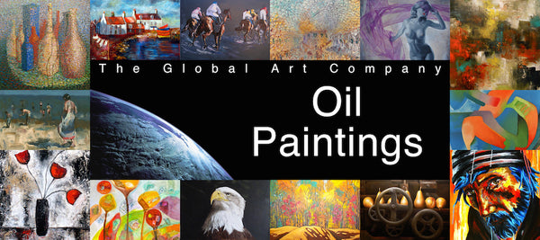 Original oil paintings collection on The Global Art Company