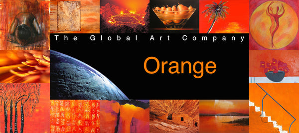 The Orange art collection on The Global Art Company