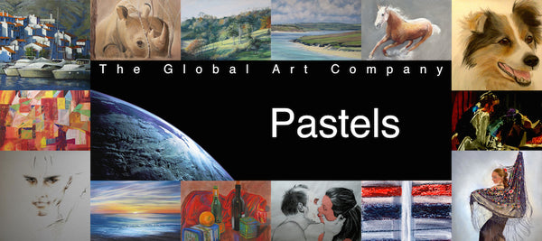 The Pastels Art Collection at The Global Art Company