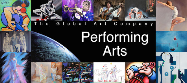 The Performing Arts gallery on The Global Art Company