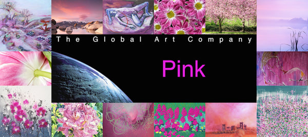 The Pink art collection on The Global Art Company