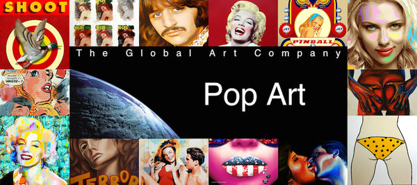 The Pop art gallery on The Global Art Company